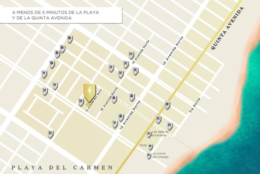 Centuria15 Bis Fachada Dia Playa del Carmen