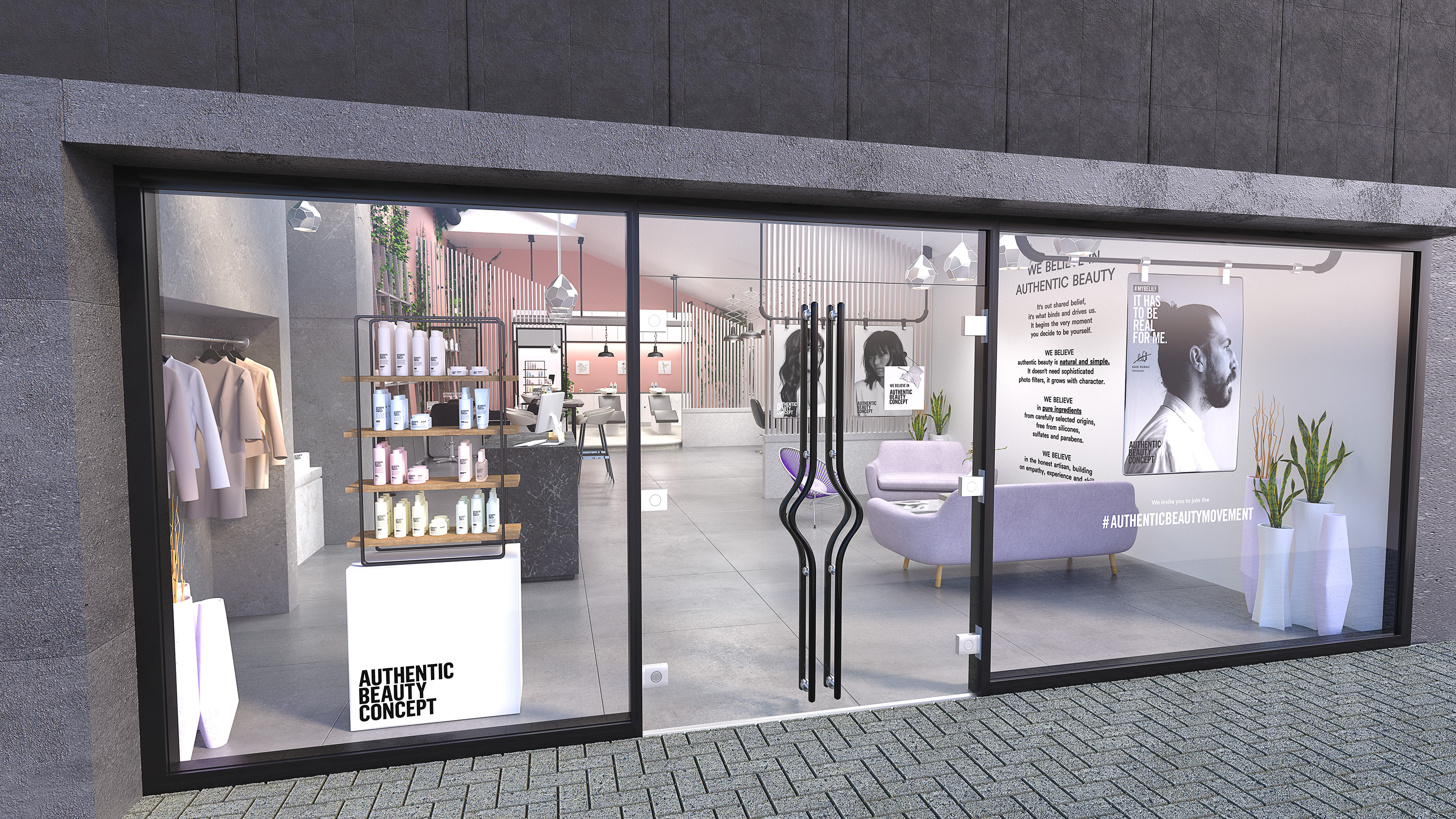 3D Salon Visualisation