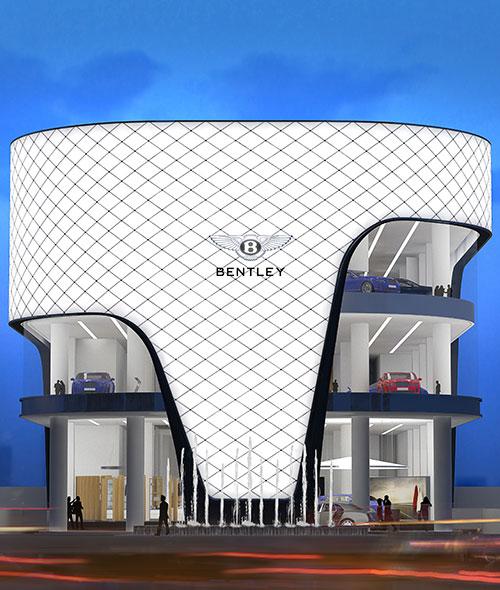 Bentley Motors Showroom Dubai
