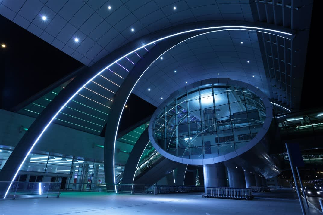 Dubai International Airport Terminal 3 Protenders