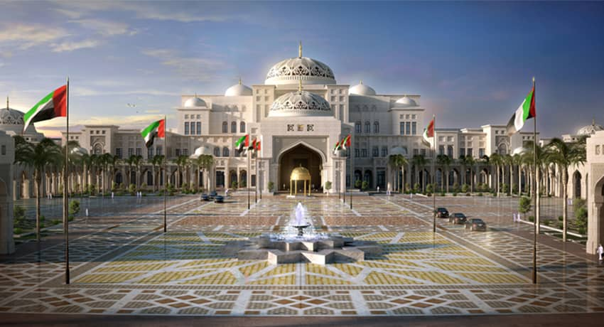Abu Dhabi Presidential Palace | ProTenders