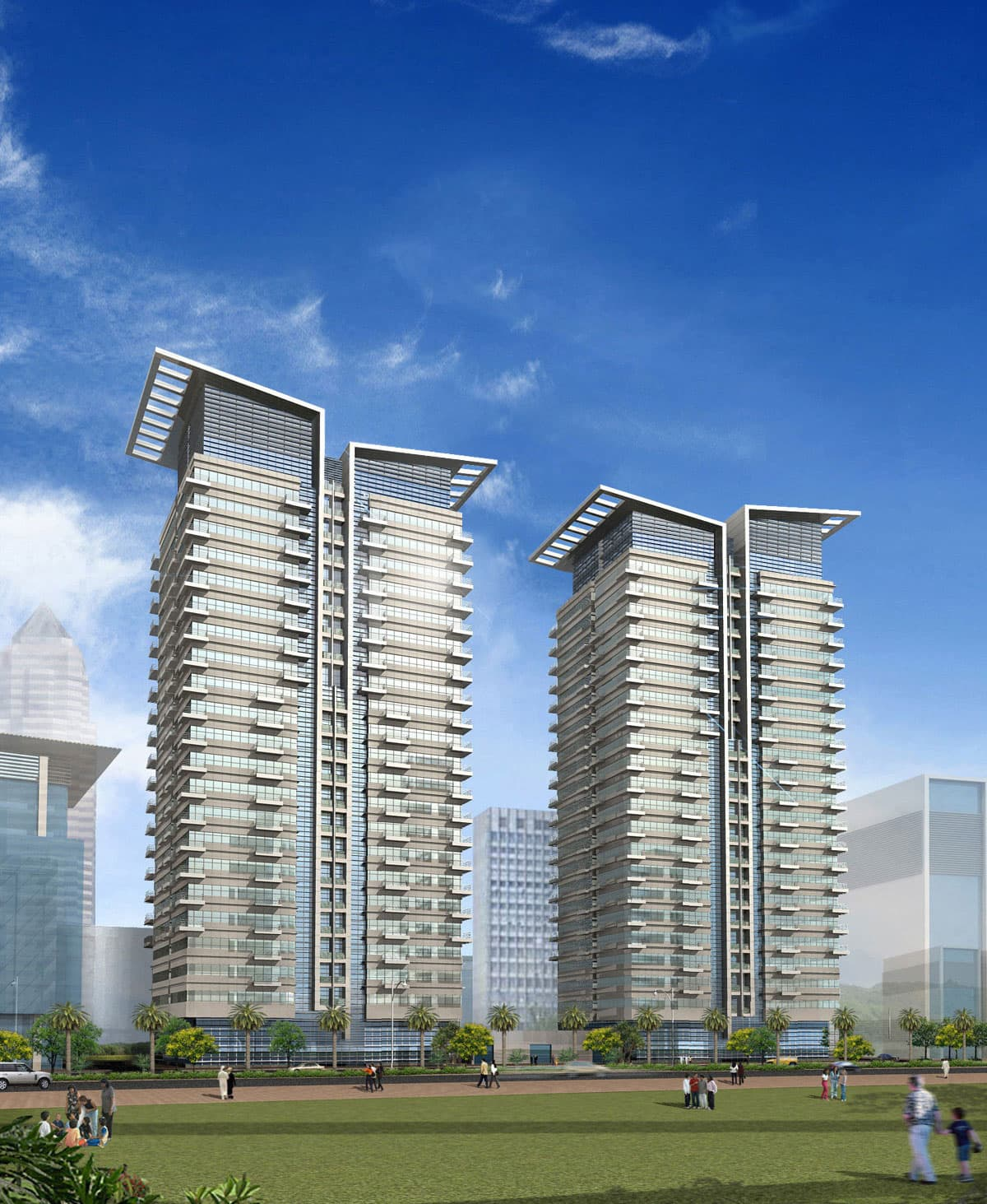 Lime Light Twin Towers Protenders
