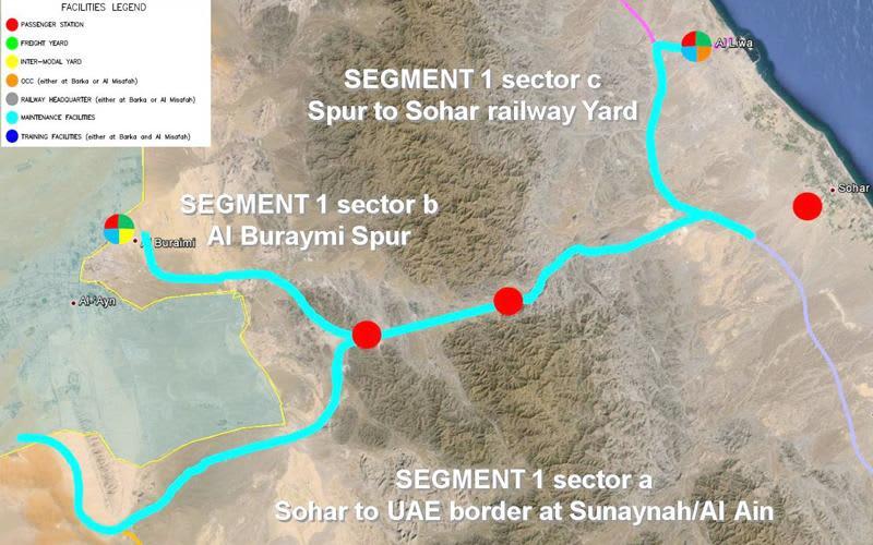 Oman Railway (Phase 1) Segment 1 (Sohar to Buraimi)   ProTenders
