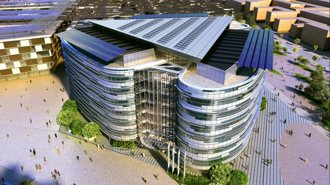 Irena Headquarters Protenders