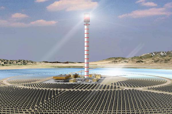 Huanghe Qinghai Delingha Solar Thermal Power Plant ...