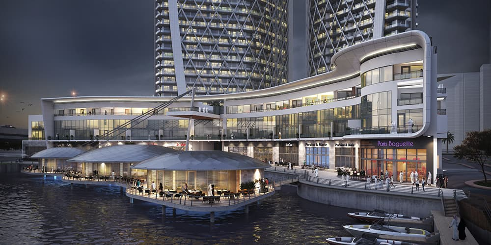 Waterfront Residential Towers Protenders