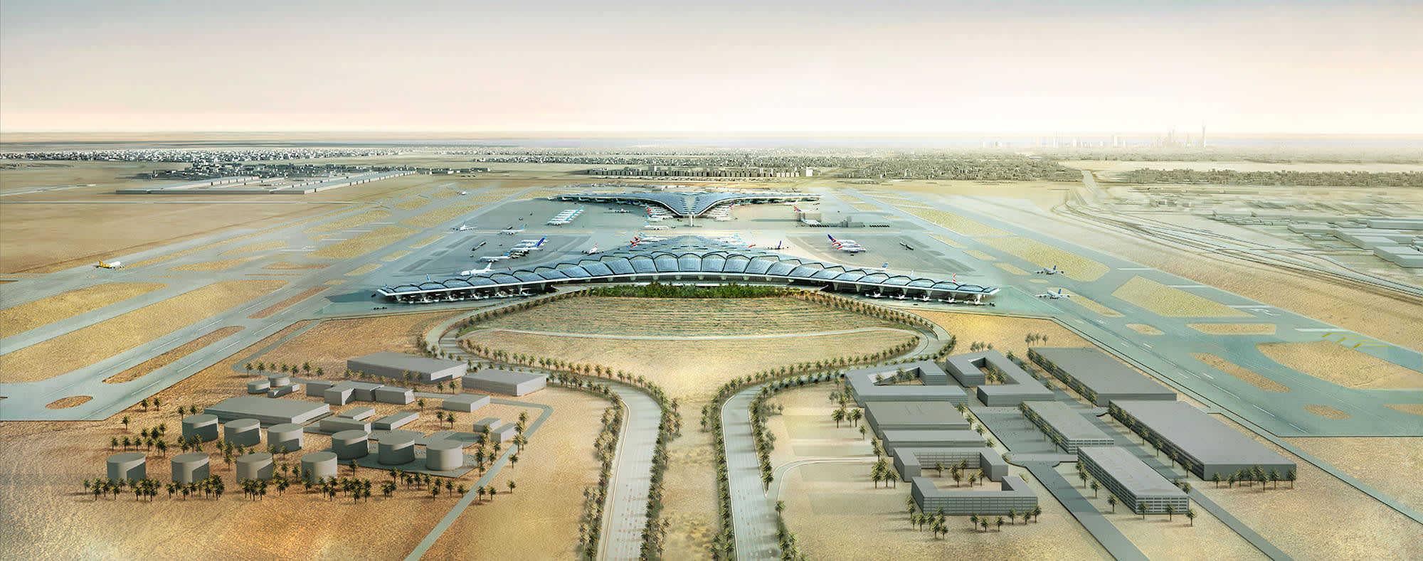 Kuwait International Airport Expansion Terminal 2 Protenders