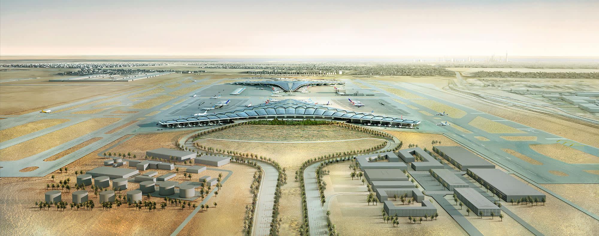 Kuwait International Airport Expansion Terminal 2 Protenders