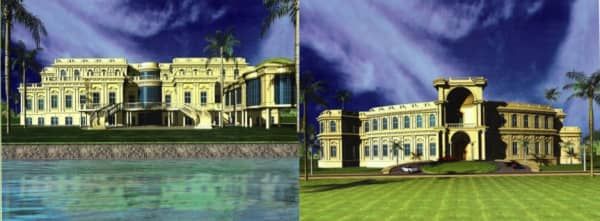 Villa & Majlis for H H  Sheikh  Nahyan Bin Zayed Al Nahyan