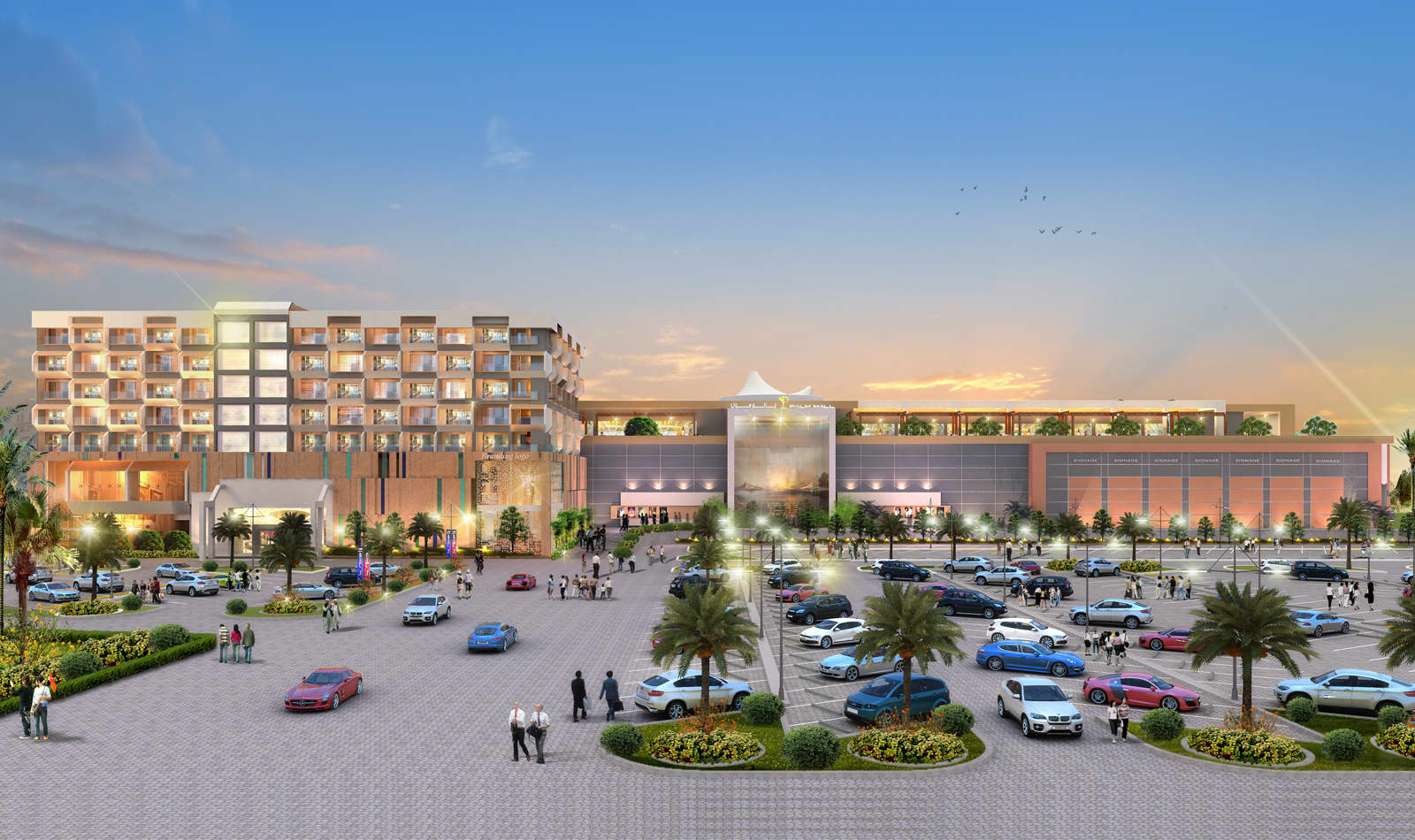 Palm Mall at Sohar Port | ProTenders