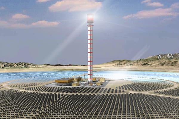 Huanghe Qinghai Delingha Solar Thermal Power Plant | ProTenders