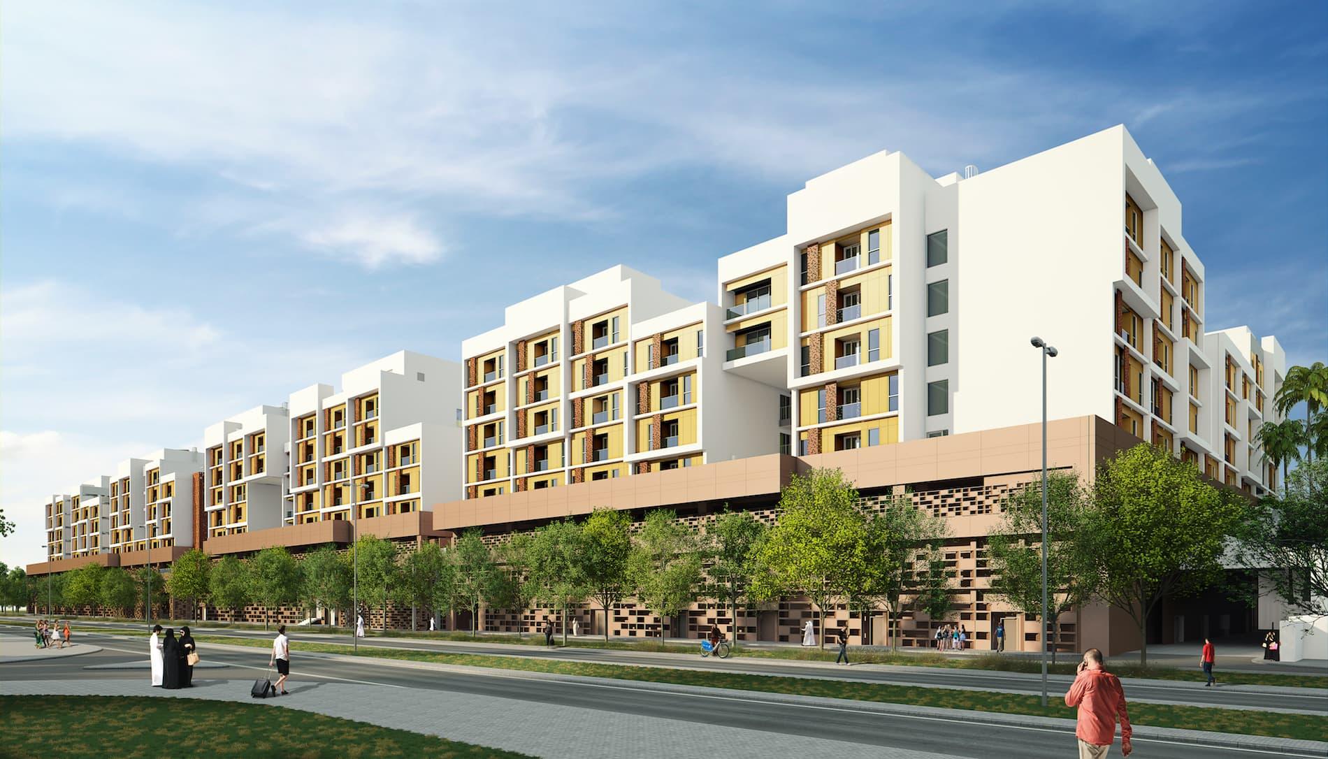 Masdar City Neighbourhood One Residences N1r Protenders