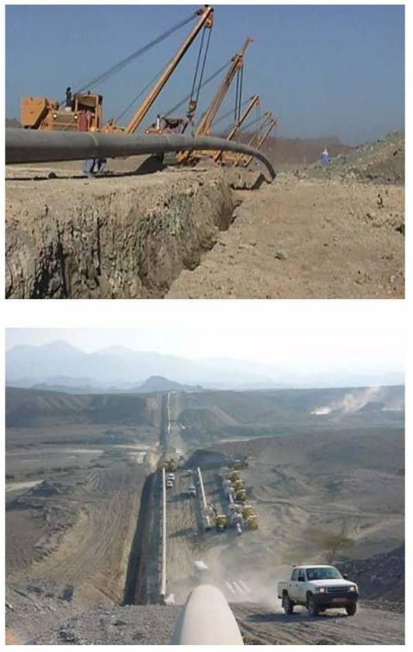 Fahud - Sohar Gas Pipeline, Oman | ProTenders