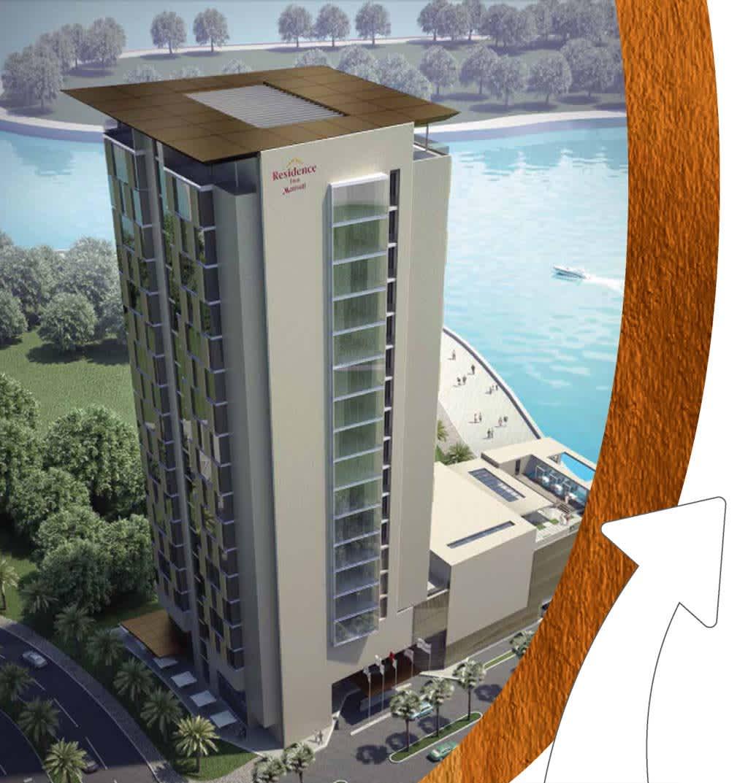 Water Garden City Marriott Residence Inn Protenders