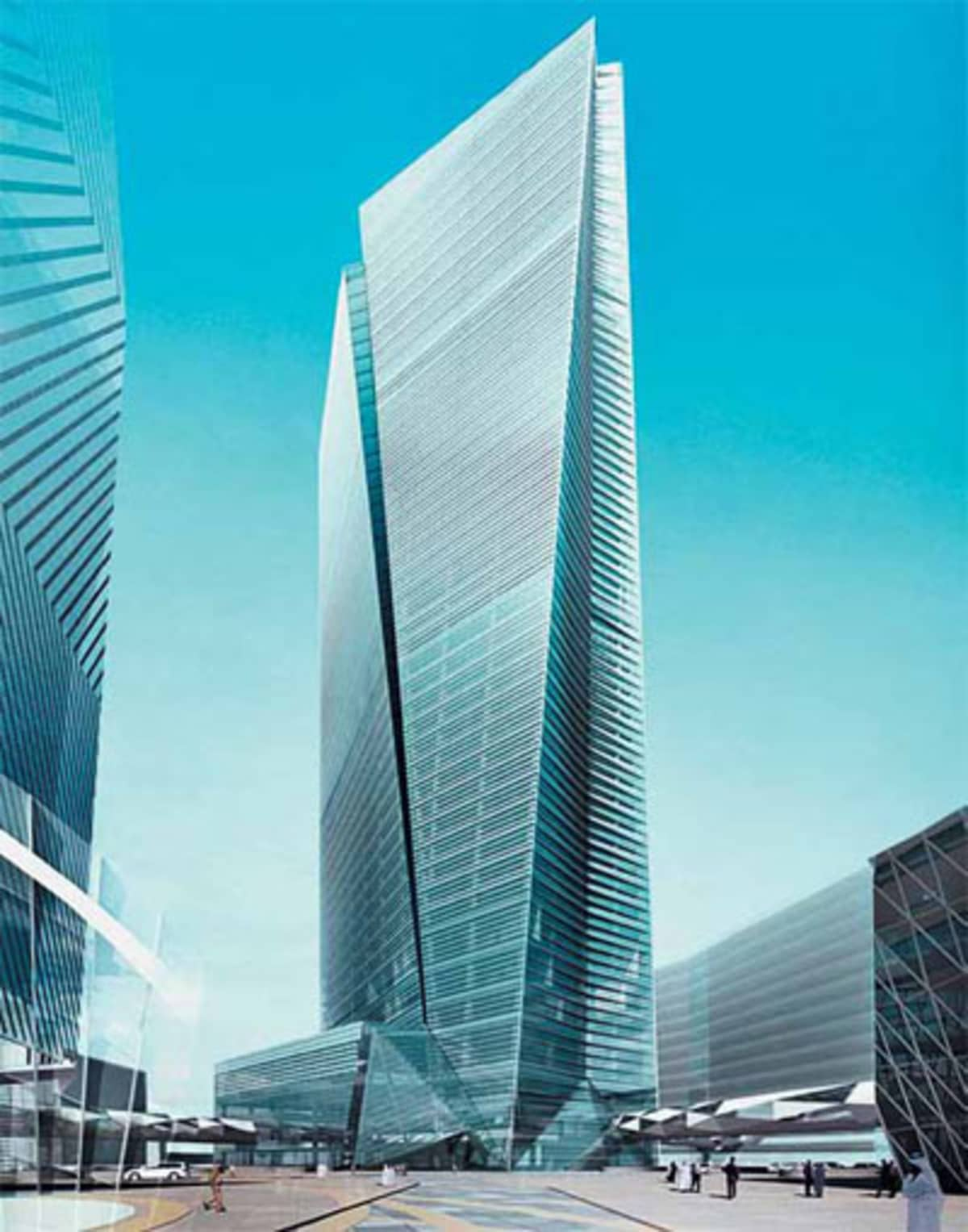King Abdullah Financial District Parcel 1 17 Tadawul Tower Protenders