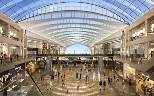 Dubai festival city mall expansion protenders updated sciox Choice Image