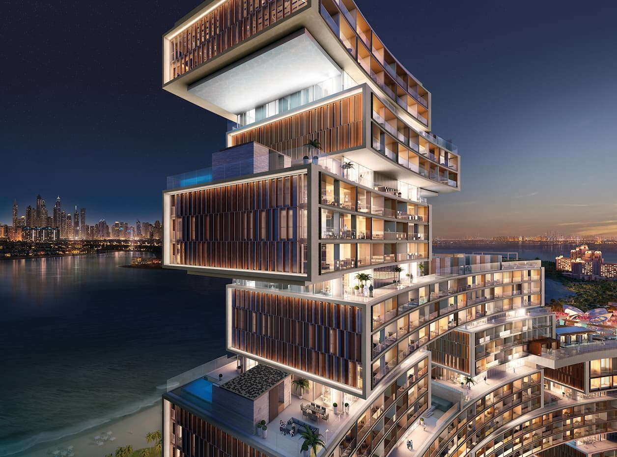 Royal atlantis resort residences protenders for Ec harris dubai