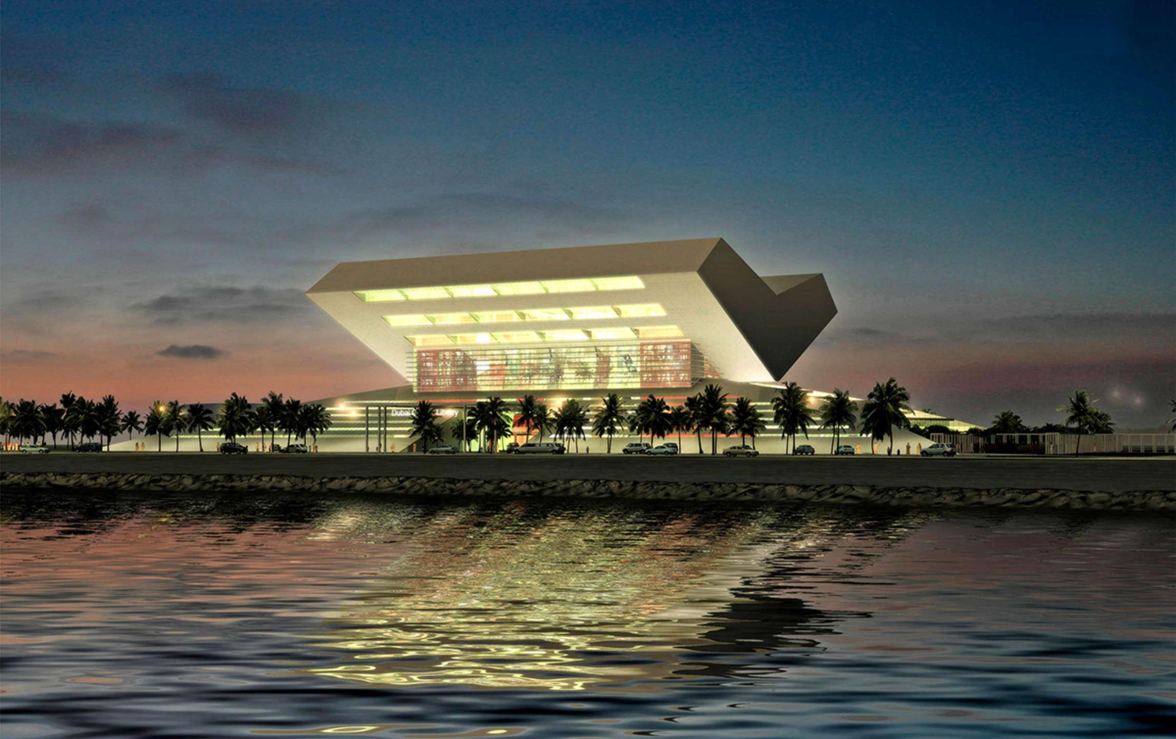 Mohammed Bin Rashid Library Protenders