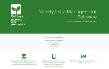Culteva™ platform allows fruit evaluators and breeders ease of data collection & report-creation