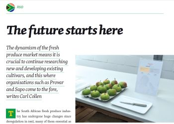 Eurofruit article 'The future starts here'