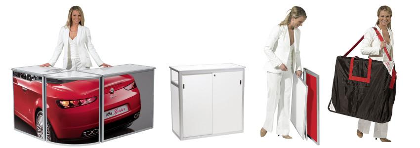 Folding Aluminium Counters