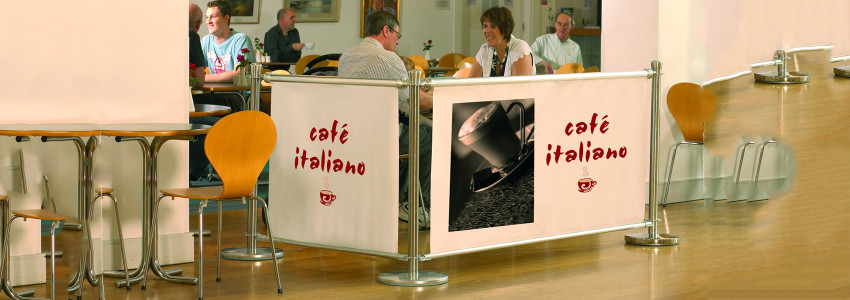 Cafe Style Barrier