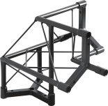 Steel Lighting truss 3 way corner section