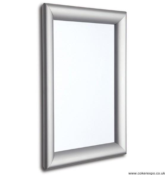 Tamper resistant poster frames
