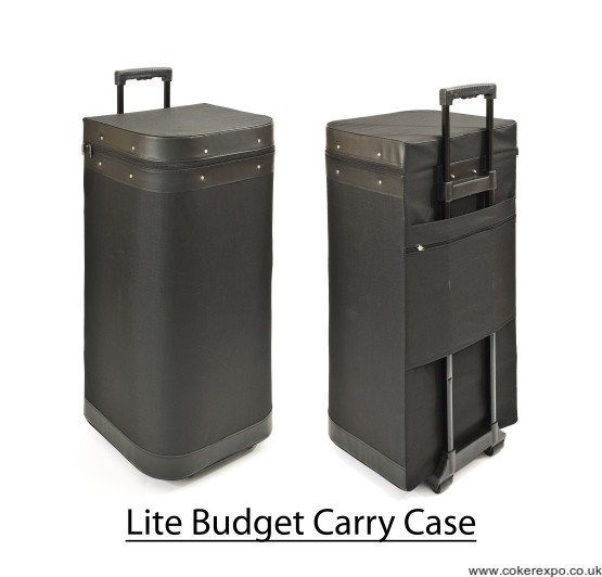 Budget pop up case in canvas finish