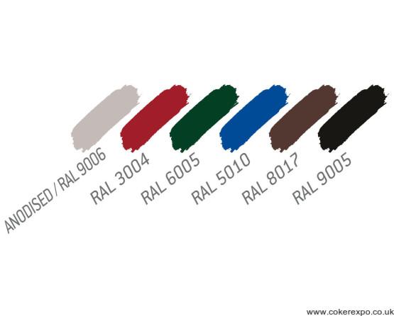 Colour range notice boards