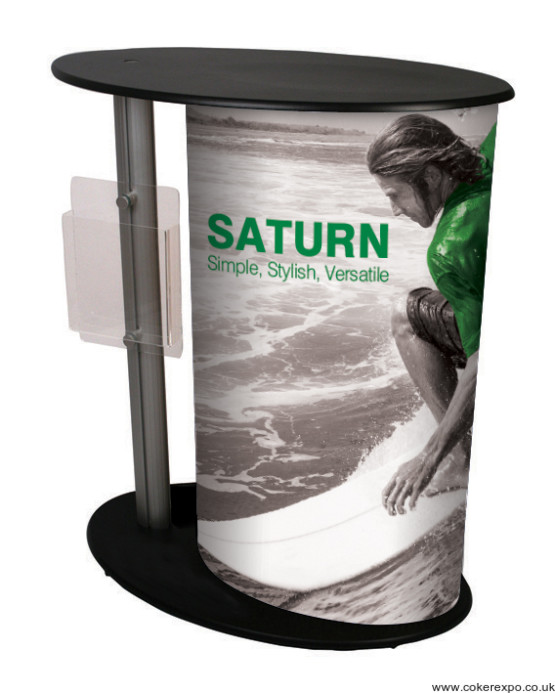 Physique portable counter with graphics column