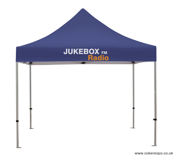 Pop up marque for external events
