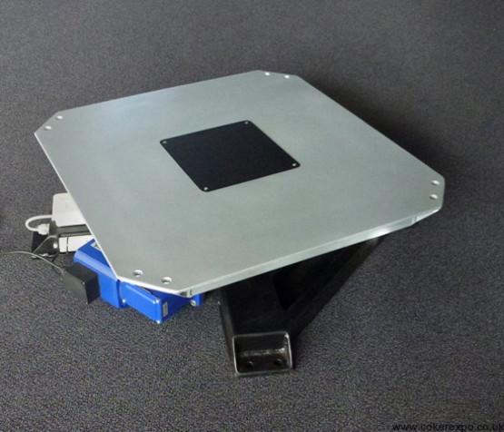 CS01 Belt drive display turntable for heavy loads