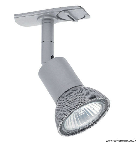 5w led track light in silver finish