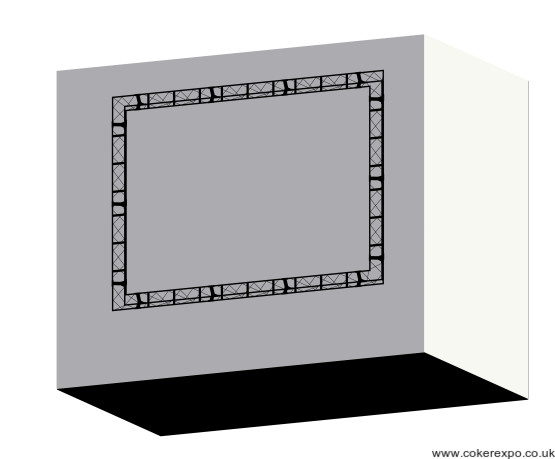 Display graphics frame