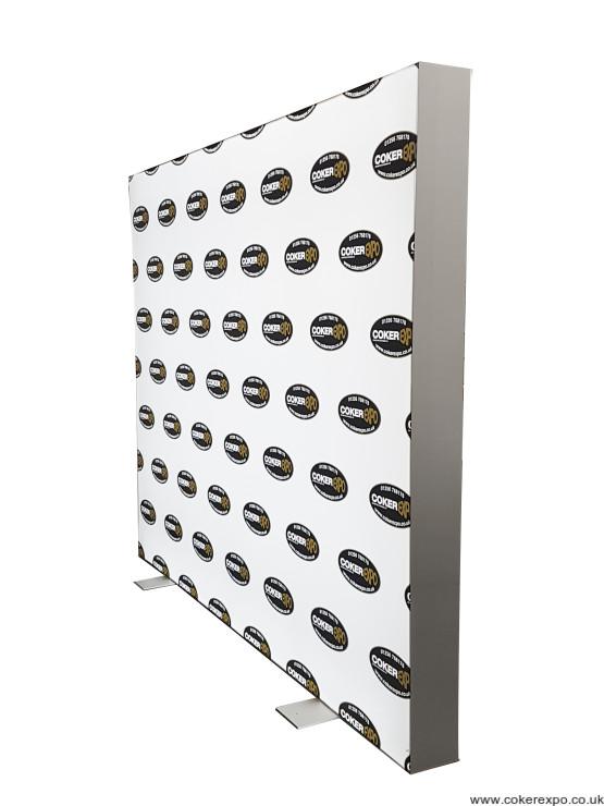 Circular light box LED backlight display