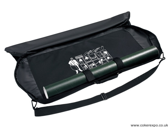 Finesse promo counter bag and graphics tube