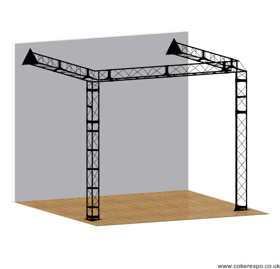 Lighting Truss lean to