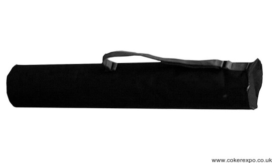 Black canvas carry case for Uno banner stands.