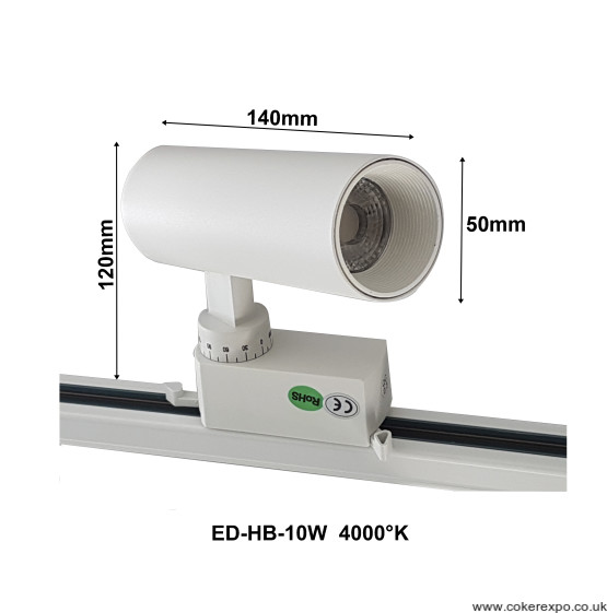 10W led spotlight dimensions drawing