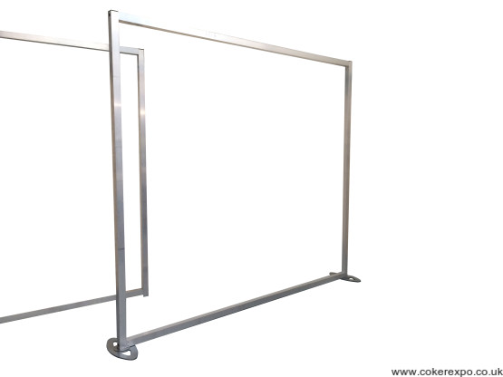 2x2 exhibition aluminium display frameworks