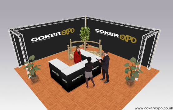 Exhibition gantry stand hire