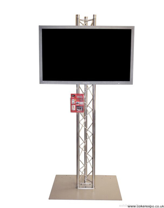 Display Stand Hire Uk : Lcd screen stand hire