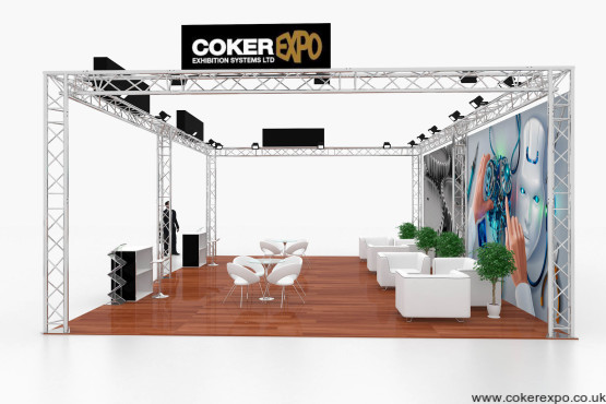 Large Lighting Truss Exhibition Stand S50