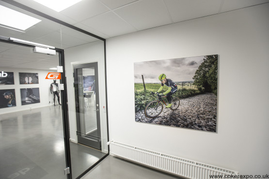 Wall Mounted Fabric Frames