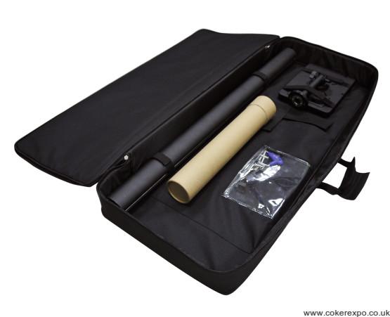 Ipad POS display stand carry bag open