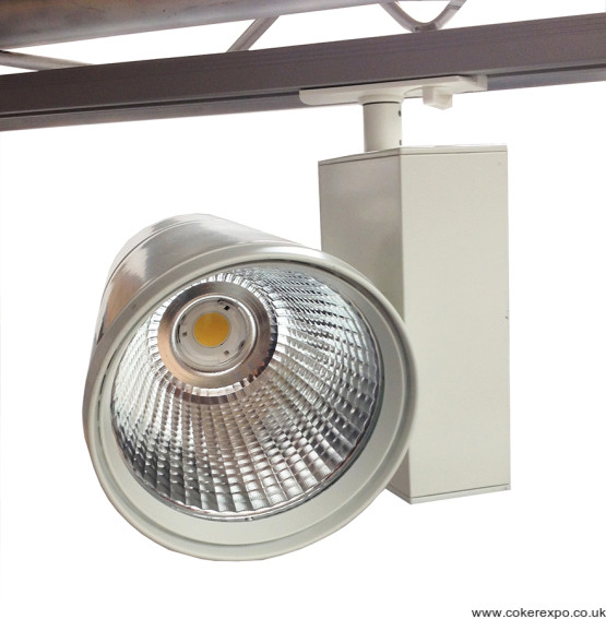 Led track flood light in white
