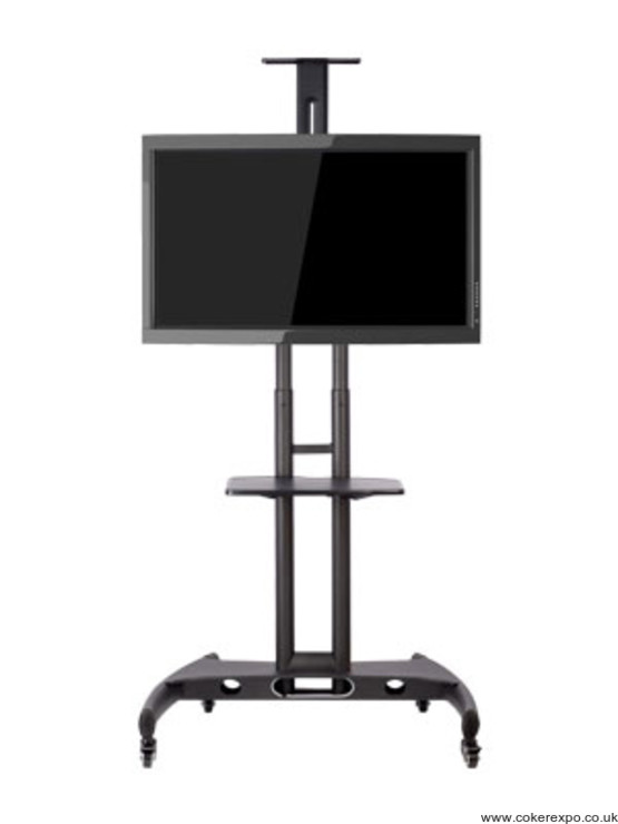 Lcd and Plasma Tv Stand in black finish