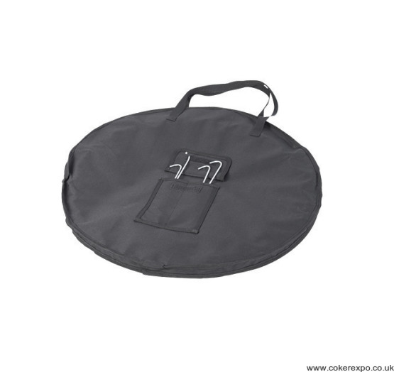 black bag for outdoor pop out displays
