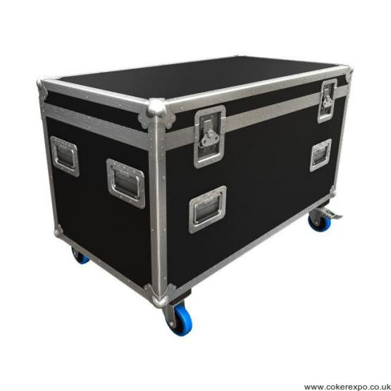 wheeled exhibition flight case